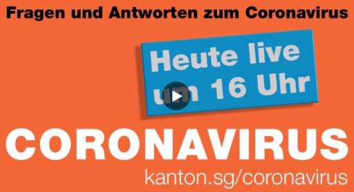 coronavirus news St. Gallen